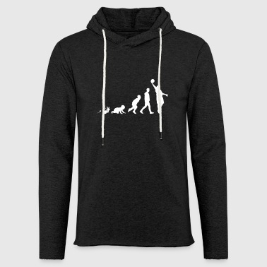 Basketball Fun Shirt Gifts Grow Evolution - Light Unisex Sweatshirt Hoodie
