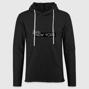 NEW YORK Love av HermzCollection - Lätt luvtröja unisex