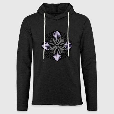 Geometric Art: Octagon (Shaded) - Light Unisex Sweatshirt Hoodie