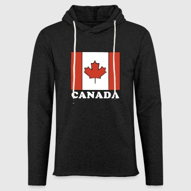 Canada Flag Canadian Flag - Light Unisex Sweatshirt Hoodie