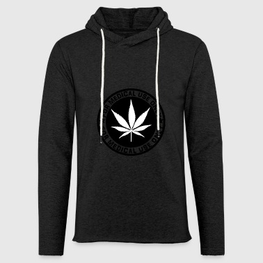 cannabis - Sweat-shirt à capuche léger unisexe