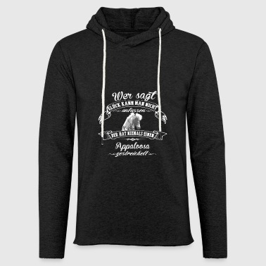Appaloosa luck - Light Unisex Sweatshirt Hoodie