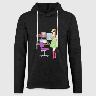 girl - Light Unisex Sweatshirt Hoodie