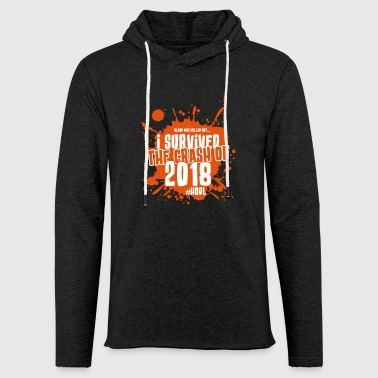 Crypto crash Survivor 2018 - Sweat-shirt à capuche léger unisexe