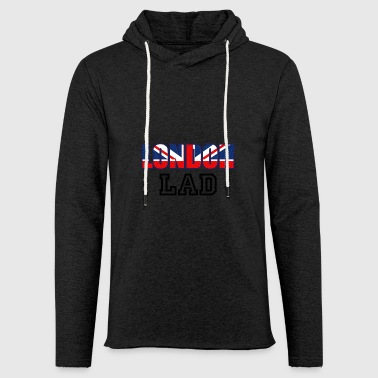 London Lad - Sweat-shirt à capuche léger unisexe