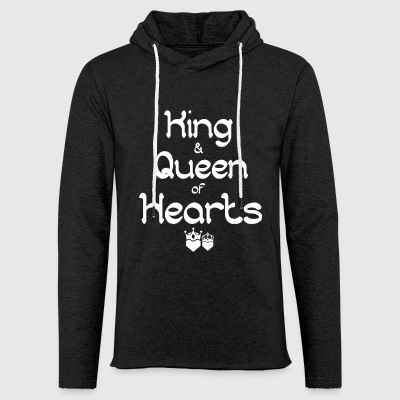 King and Queen of Hearts 2 - Light Unisex Sweatshirt Hoodie