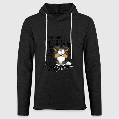 I Am Shetland - BlackTri AN - Light Unisex Sweatshirt Hoodie