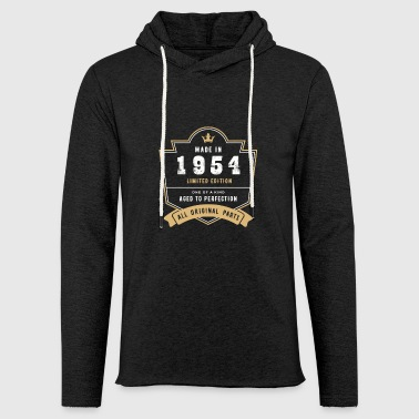 Made In 1954 Limited Edition All Original Parts - Light Unisex Sweatshirt Hoodie
