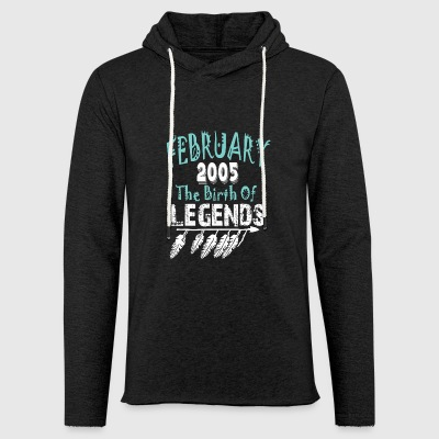 February 2005 The Birth Of Legends - Light Unisex Sweatshirt Hoodie