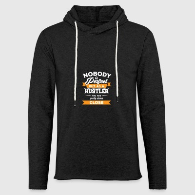 Hustler - Business - Entrepreneur gift - Hustle - Light Unisex Sweatshirt Hoodie