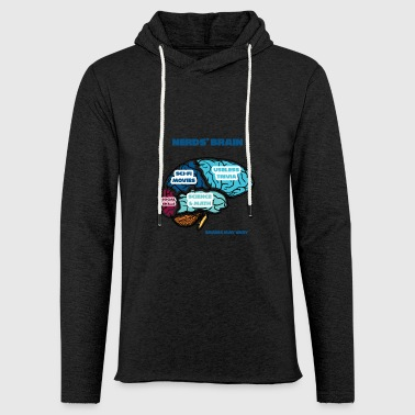 Nerd / Nerds: Nerd's Brain - Light Unisex Sweatshirt Hoodie