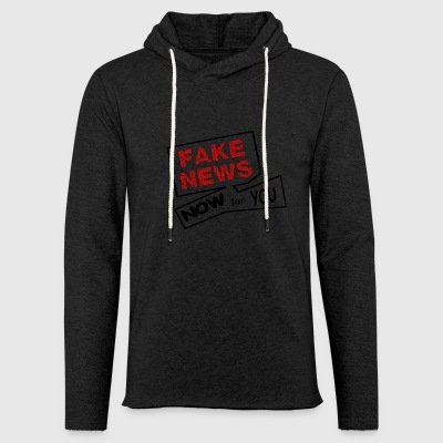 fake news - Light Unisex Sweatshirt Hoodie
