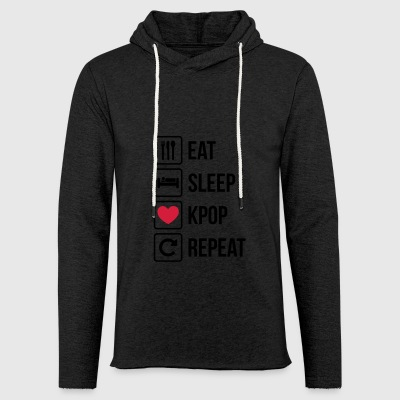 Eat Sleep KPOP Repeat - Light Unisex Sweatshirt Hoodie