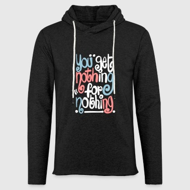 Nothing Nothing 4 - Lichte hoodie unisex