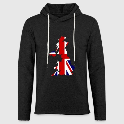 United Kingdom - Light Unisex Sweatshirt Hoodie