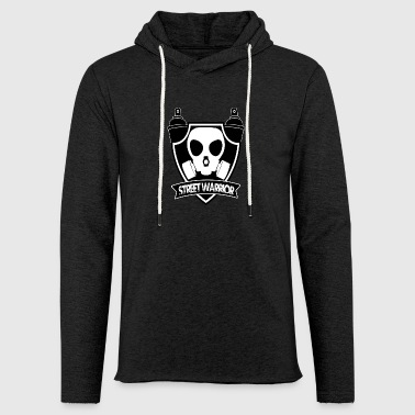 Street Warrior (Warrior of the Street) - Light Unisex Sweatshirt Hoodie