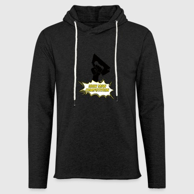 Iron Man Competition - Iron Man Competition - Light Unisex Sweatshirt Hoodie