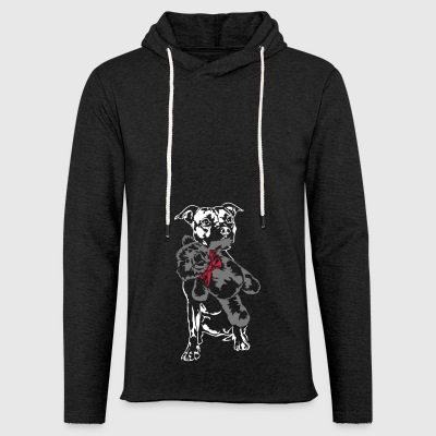 Staffordshire with Teddy - Light Unisex Sweatshirt Hoodie