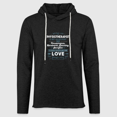 Love what you do - Physiotherapist - Light Unisex Sweatshirt Hoodie