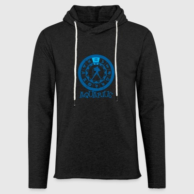 Astrological sign Aquarius / Zodiac Aquarius - Light Unisex Sweatshirt Hoodie