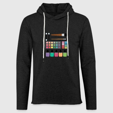 Make-up set - Light Unisex Sweatshirt Hoodie