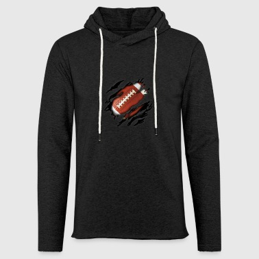Football in me - Light Unisex Sweatshirt Hoodie