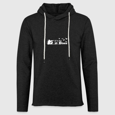 Hunter if it flies it - Light Unisex Sweatshirt Hoodie