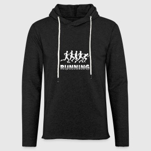 Running Runner Shirt - Light Unisex Sweatshirt Hoodie