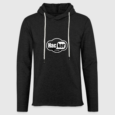 Hacker Logo - Light Unisex Sweatshirt Hoodie