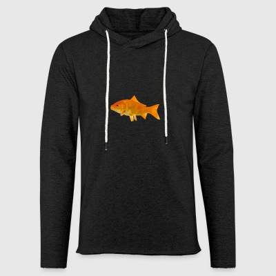 Polygon Goldfish - Light Unisex Sweatshirt Hoodie