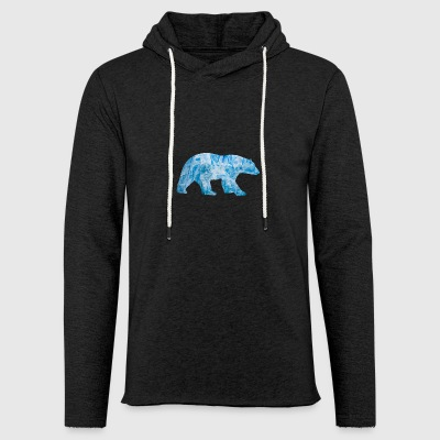 Polar Bear - Light Unisex Sweatshirt Hoodie