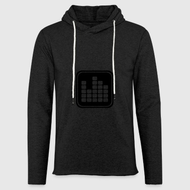 Music icon equalizer - Light Unisex Sweatshirt Hoodie