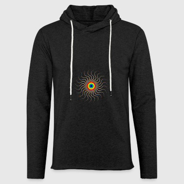 Optical illusion - Light Unisex Sweatshirt Hoodie