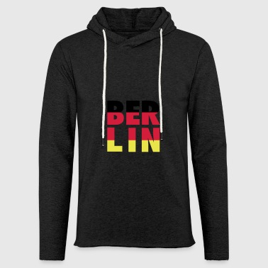 BERLIN002 - Light Unisex Sweatshirt Hoodie
