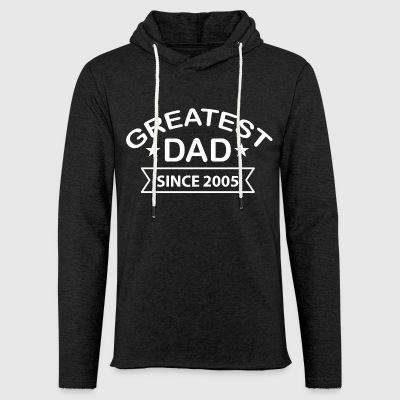 Greatest Dad Since 2005 - Light Unisex Sweatshirt Hoodie