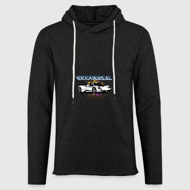 Supercar white - Light Unisex Sweatshirt Hoodie