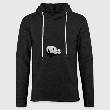 Mother Panda with Baby Panda - Light Unisex Sweatshirt Hoodie