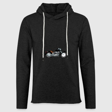 Motorcycle chopper - Light Unisex Sweatshirt Hoodie