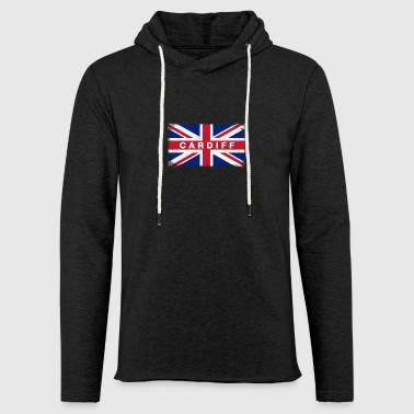 Cardiff Shirt Vintage United Kingdom Flag T-Shirt - Light Unisex Sweatshirt Hoodie