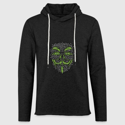 Digital Anonymous Version 01 - Light Unisex Sweatshirt Hoodie