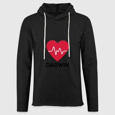 heart Darwin - Light Unisex Sweatshirt Hoodie