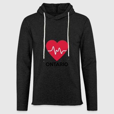 heart Ontario - Light Unisex Sweatshirt Hoodie