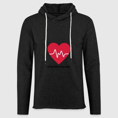Heart Northern Ireland - Light Unisex Sweatshirt Hoodie