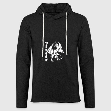 standing dragon - Light Unisex Sweatshirt Hoodie