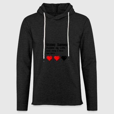 Video Games - Leichtes Kapuzensweatshirt Unisex
