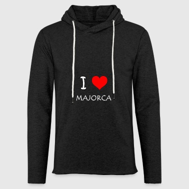 I Love Majorca - Light Unisex Sweatshirt Hoodie
