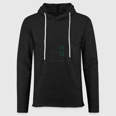 Freestyle Snowboarder Sport Comic Boarder Gift - Light Unisex Sweatshirt Hoodie