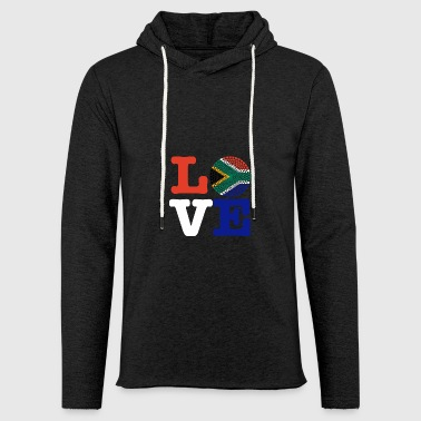 SOUTH AFRICA HEART - Light Unisex Sweatshirt Hoodie