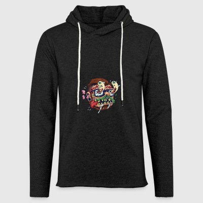 Skater Swag Alternative - Leichtes Kapuzensweatshirt Unisex