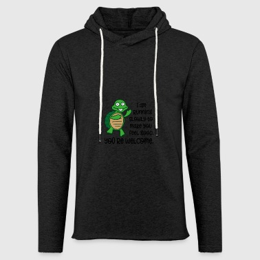 to run - Light Unisex Sweatshirt Hoodie